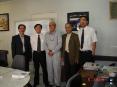 赵老师率领代表团出访伊朗